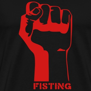 Black fisting porn T-Shirts (Short sleeve) - Men's Premium T-Shirt