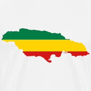 White jamaica T-Shirts (Short sleeve) - Men's Premium T-Shirt