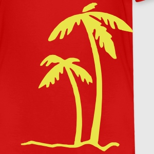 Red Beach Summer Sun Ocean Sea Holiday Palms Toddler Shirts - Toddler Premium T-Shirt