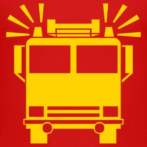 Red firetruck Toddler Shirts - Toddler Premium T-Shirt