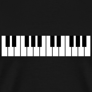 Black Piano T-Shirts (Short sleeve) - Men's Premium T-Shirt