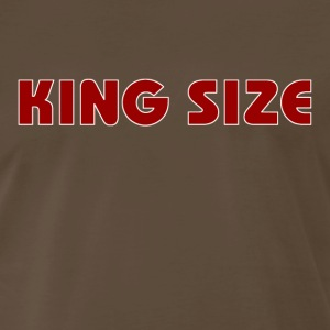 KING SIZE - Men's Premium T-Shirt