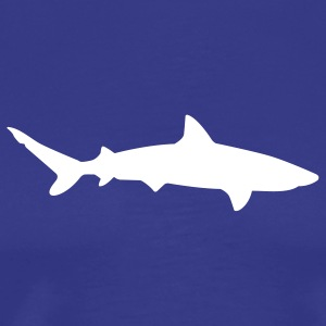 Royal blue shark T-Shirts (Short sleeve) - Men's Premium T-Shirt