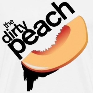The Dirty Peach Logo - Men's Premium T-Shirt
