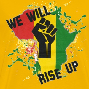 Africa We Will Rise - Men's Premium T-Shirt