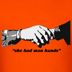 Seinfeld - Man Hands Heavyweight Cotton T-Shirt
