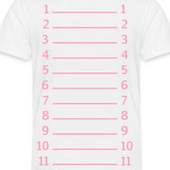 Design ~ Toddler Length Check Tee PInk on White