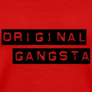 Red Gangsta! T-Shirts (Short sleeve) - Men's Premium T-Shirt