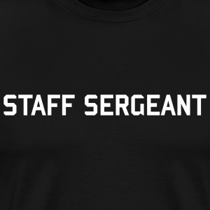 ARMY Staff Sergeant - Men's Premium T-Shirt