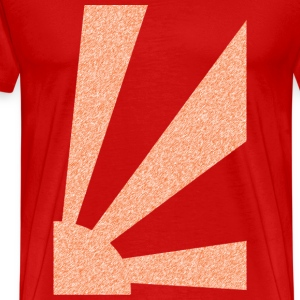 Red Rising Sun T-Shirts (Short sleeve) - Men's Premium T-Shirt