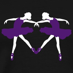 Ballet Dancers - Men's Premium T-Shirt