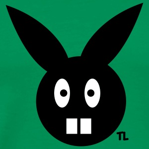 Bright green Bunny T-Shirts - Men's Premium T-Shirt