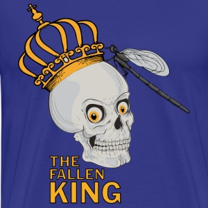 Royal blue The Fallen King T-Shirts - Men's Premium T-Shirt
