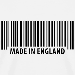 White Made in England T-Shirts - Men's Premium T-Shirt