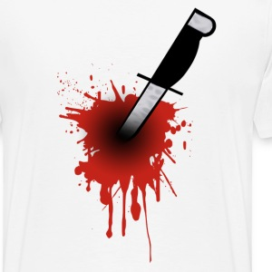 knife wound - Men's Premium T-Shirt