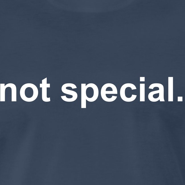 not special