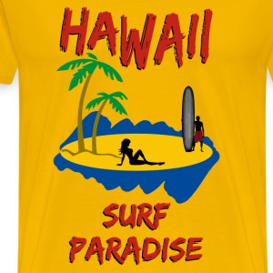 Hawaii surf paradise - Men's Premium T-Shirt