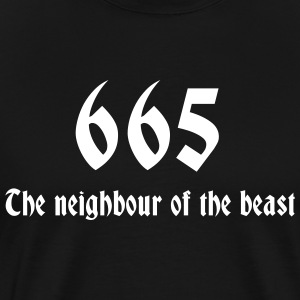 Black 665 T-Shirts (Short sleeve) - Men's Premium T-Shirt