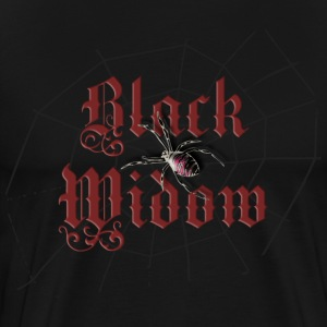 Black black_widow T-Shirts (Short sleeve) - Men's Premium T-Shirt