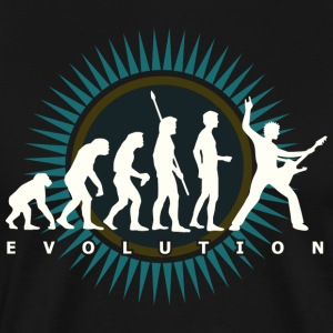 Black evolution_b T-Shirts (Short sleeve) - Men's Premium T-Shirt