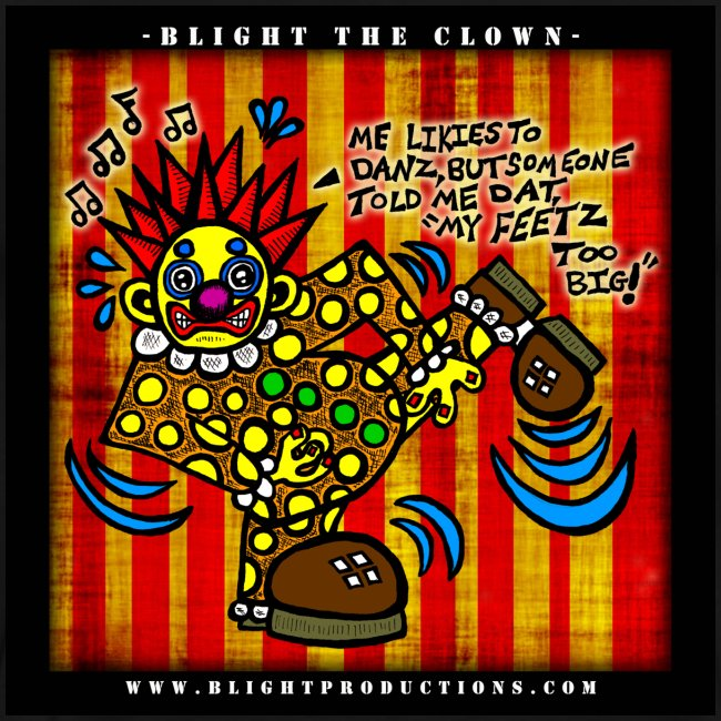 Blight the Clown Drawing 4