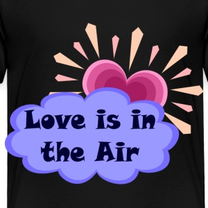 Black Love Is In The Air Toddler Shirts - Toddler Premium T-Shirt
