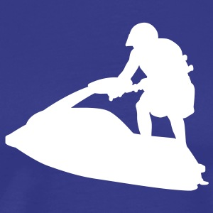 Royal blue jet ski T-Shirts - Men's Premium T-Shirt
