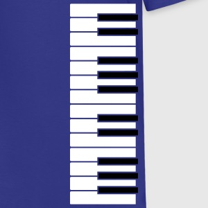 Royal blue Simple Piano Kids Shirts - Kids' Premium T-Shirt