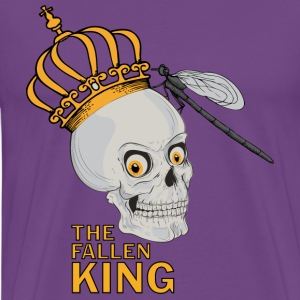 Purple The Fallen King T-Shirts - Men's Premium T-Shirt