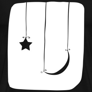 Moon and Star - Men's Premium T-Shirt
