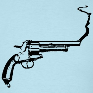 Sky blue Smoking Gun T-Shirts - Men's T-Shirt