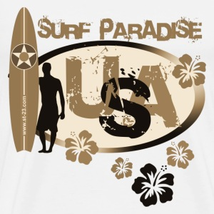 usa surf - Men's Premium T-Shirt