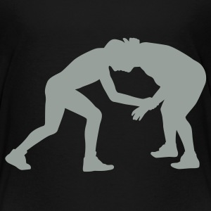 Black wrestling Toddler Shirts - Toddler Premium T-Shirt
