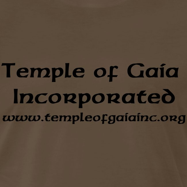 T-Shrits with Temple Name