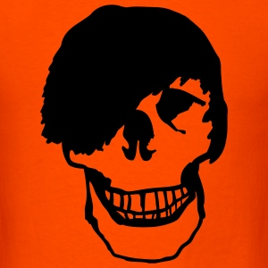 Orange Emo - Skull T-Shirts - Men's T-Shirt