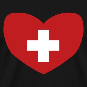 Love Switzerland - Men's Premium T-Shirt