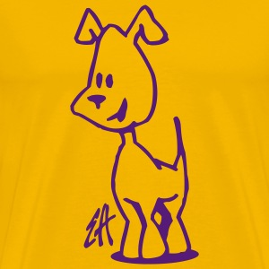 Dog, doggie - Men's Premium T-Shirt