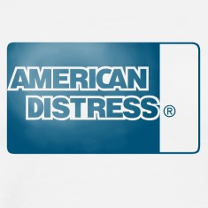 American Distress Blue