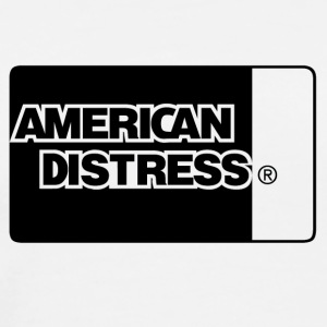 American Distress Blue - Men's Premium T-Shirt