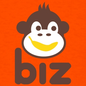 Orange monkeybiz T-Shirts - Men's T-Shirt