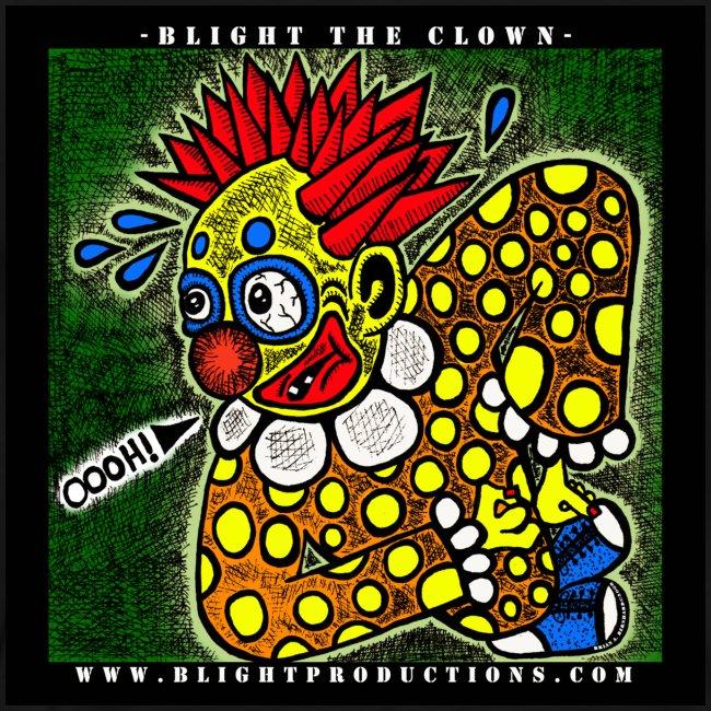 Blight the Clown Drawing 1
