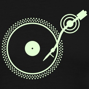 Black Turntable 2 T-Shirts - Men's Premium T-Shirt