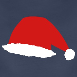 Navy Santa Hat Plus Size - Women's Premium T-Shirt