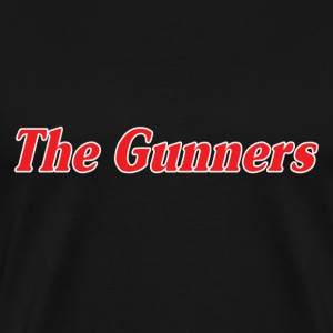 Black The Gunners T-Shirts - Men's Premium T-Shirt