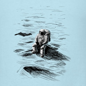 World's Loneliest Astronaut - Men's T-Shirt