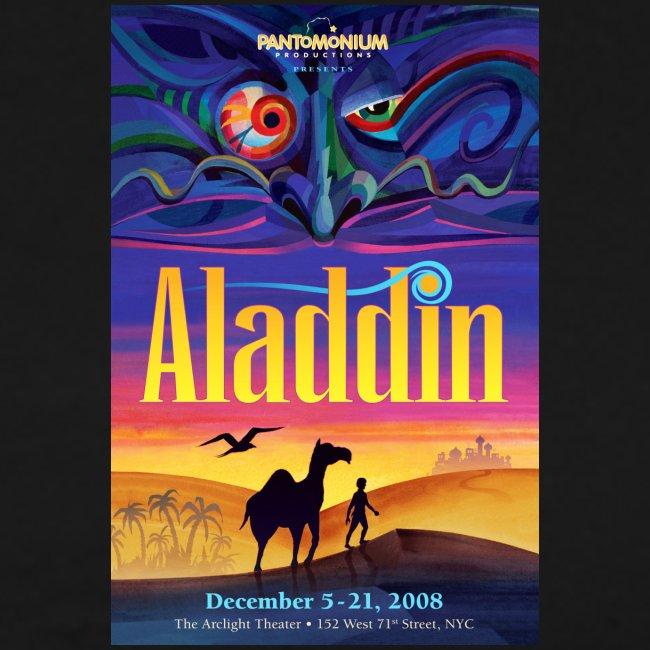 Aladdin Show T-Shirt, Small Art