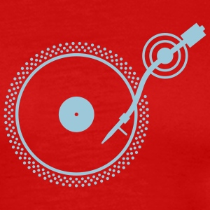 Red Turntable 2 T-Shirts - Men's Premium T-Shirt