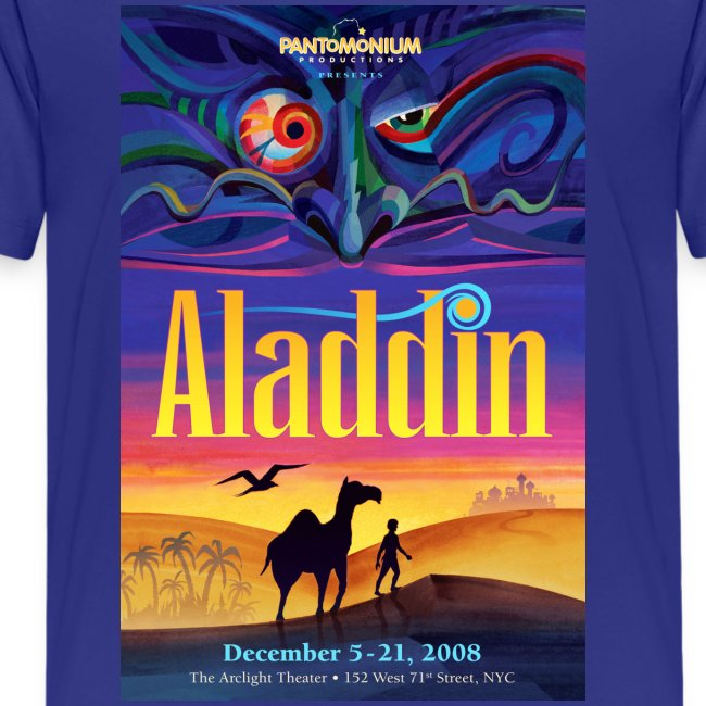 Aladdin Artwork Shirt Kids