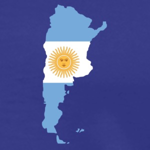 Royal blue Argentina T-Shirts - Men's Premium T-Shirt