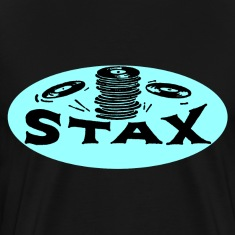 Black Stax Oval T-Shirt
